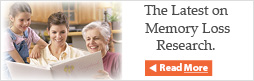 The Latest on Memory Loss Research